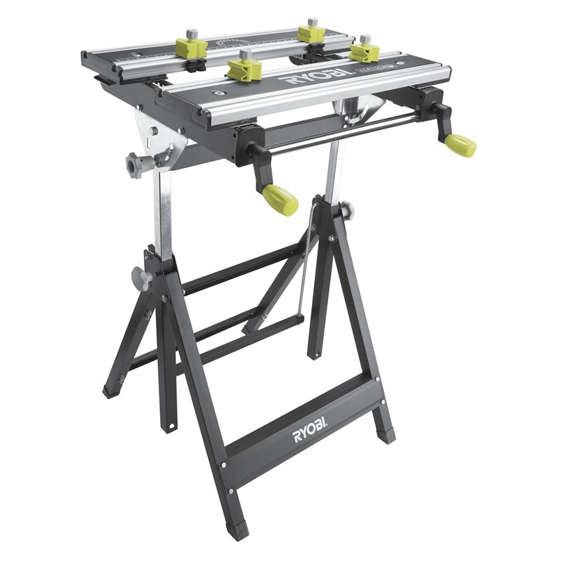 800x800 Ryobi Foldable Metal Workbench Tools Woodworking
