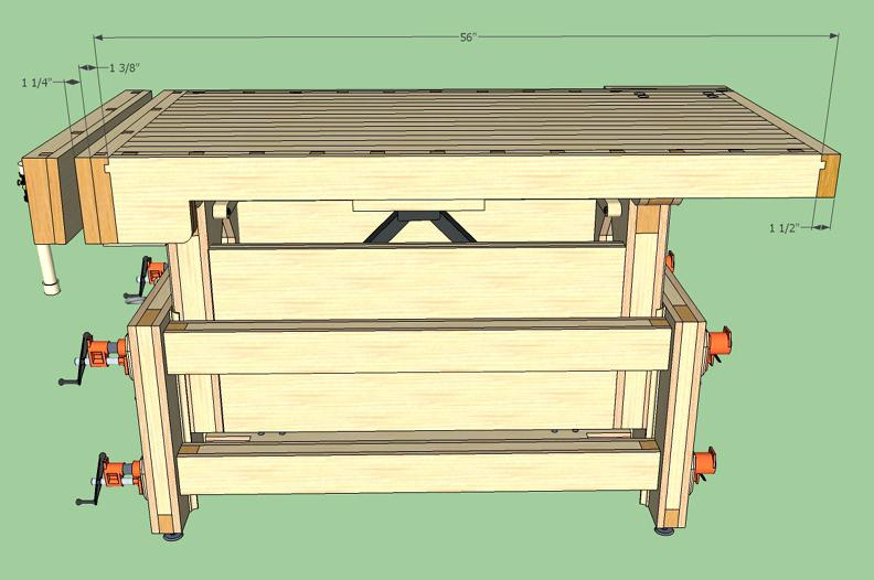 792x526 Best Workbenches Adjustable Height Workbench Drawing Workbenches