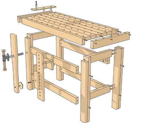 500x400 Make The Perfect Workbench
