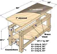200x190 Over 50 Free Workbench Woodcraft Plans