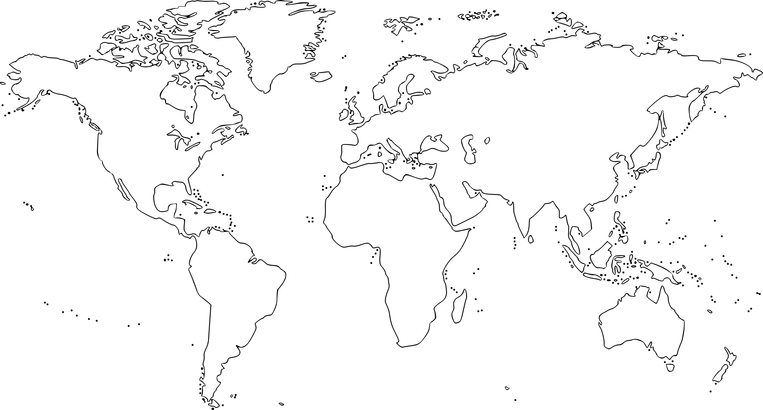 2555x1375 World Map Blank For Students Refrence World Map Drawing Tumblr