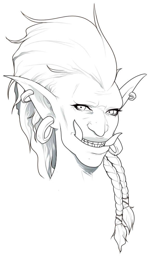 604x1000 World Of Warcraft Tumblr Races Troll Character