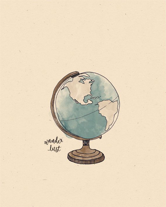 570x712 Collection Of Tumblr Globe Drawing High Quality, Free