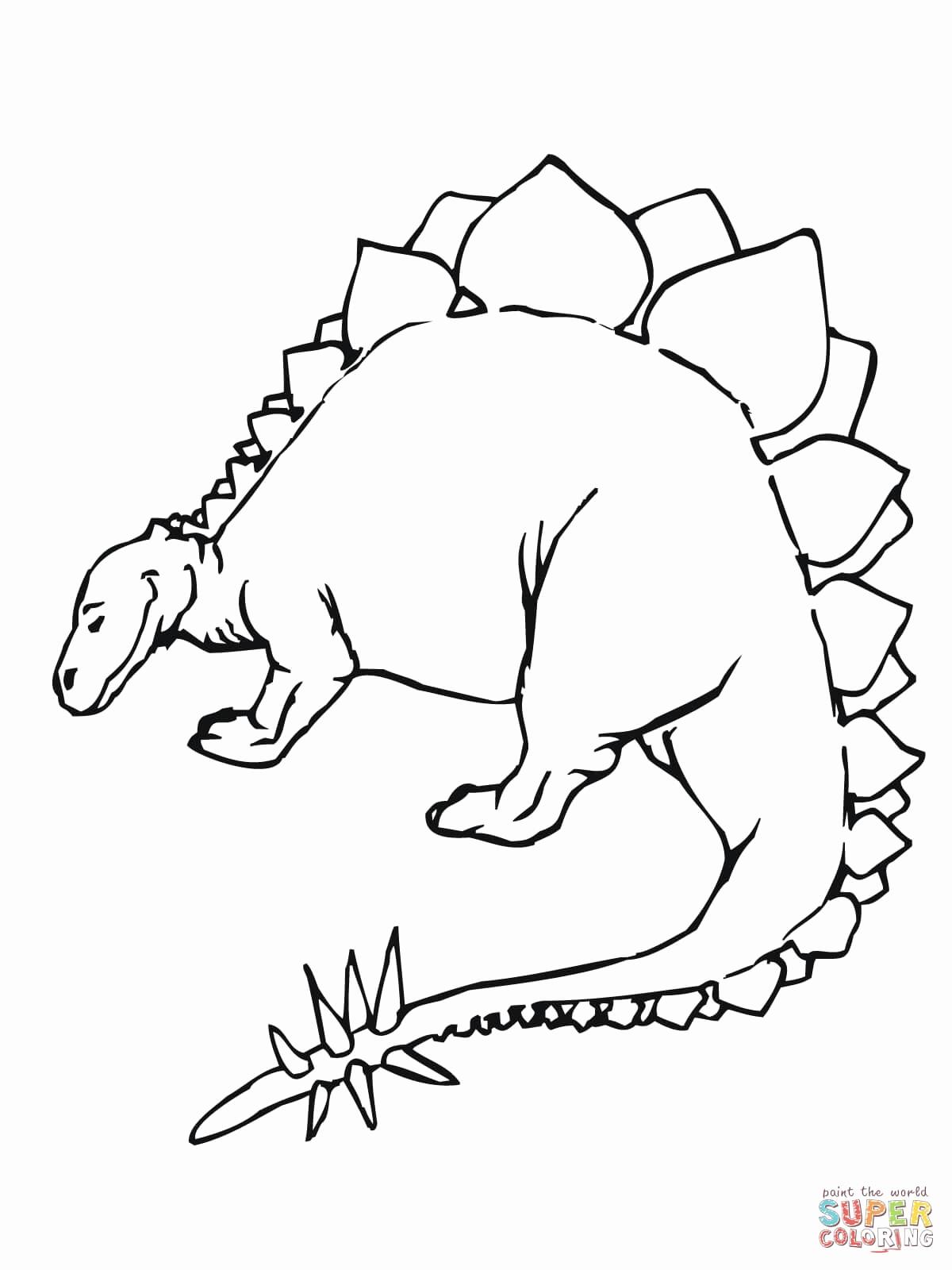 1200x1600 Cute Dinosaur Tumblr Luxury Cute Stegosaurus Coloring Page