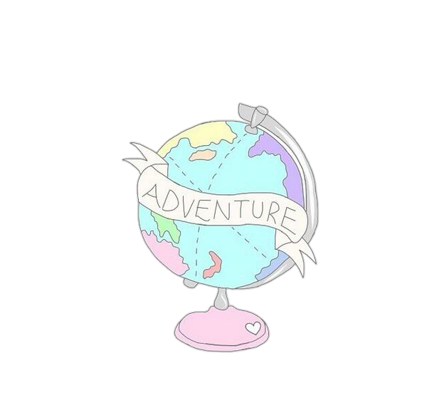 600x572 Planet Pastel Tumblr World Drawing