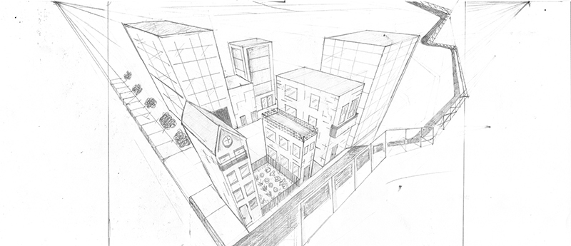 800x345 Perspective Drawing