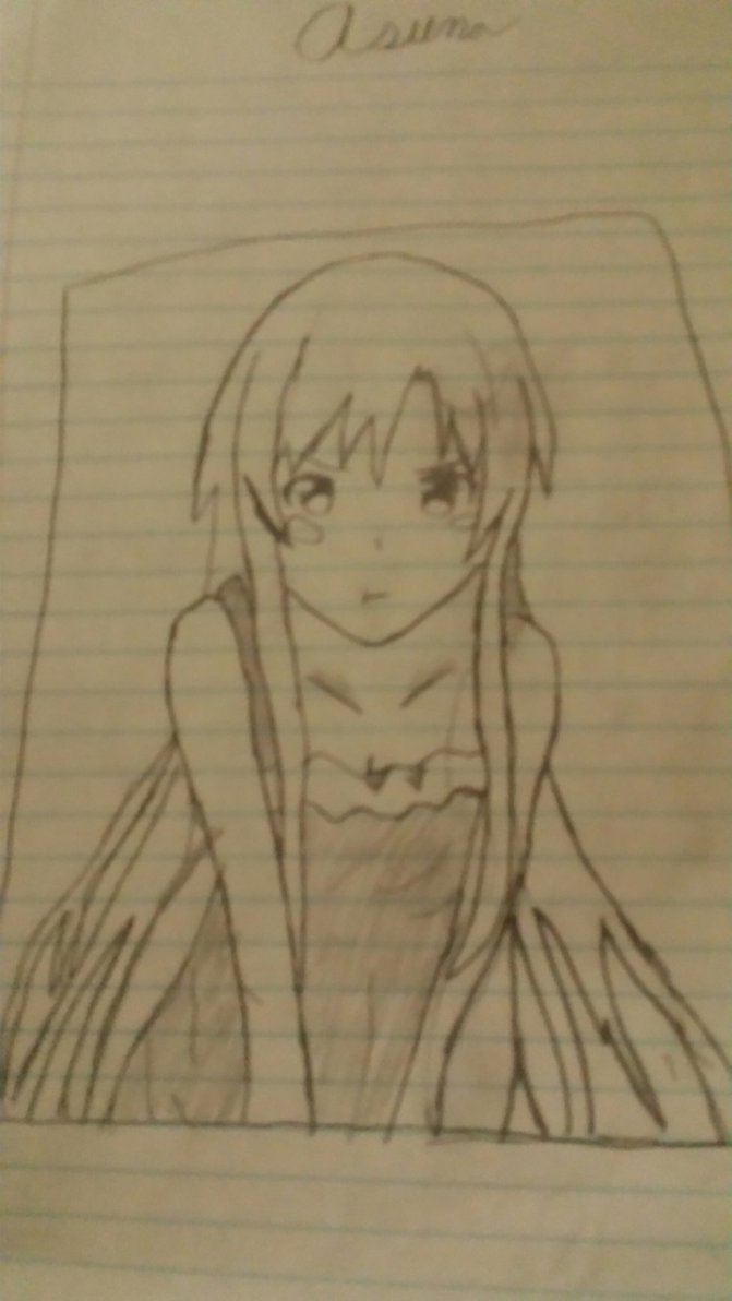 671x1192 Probably The Worst Asuna Fan Art Ever Made By Purplemananime