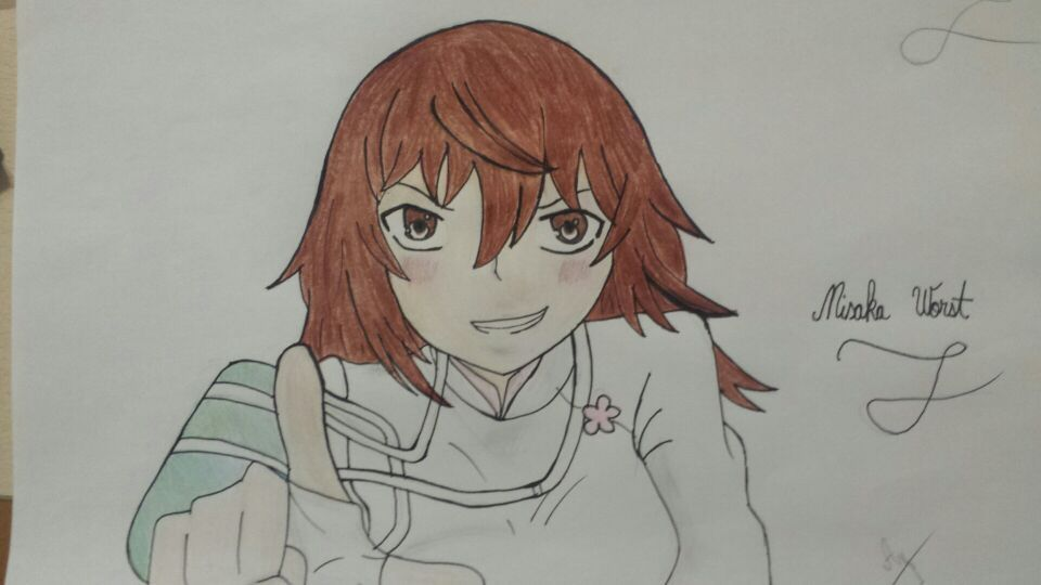 960x540 Ma Drawing Of Misaka Worst Anime Amino