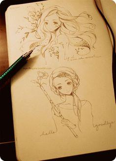 236x326 Anime Art Anime Couple. Love. Romance. Doodle