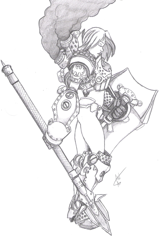 537x800 Centurion Girl By Jackwrench
