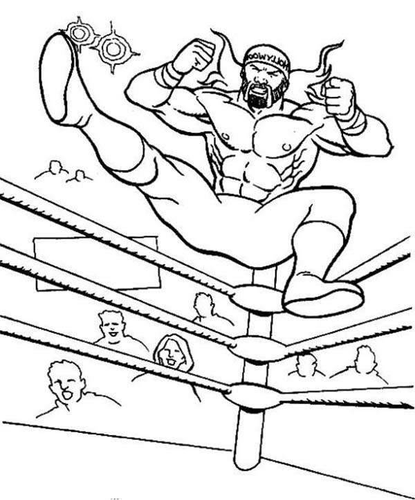 600x723 Wrestling Color Pages Outstanding Wrestling Coloring Pages 26