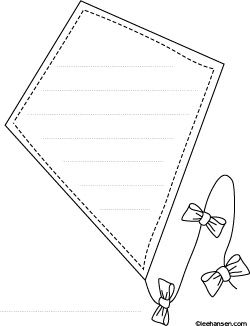 Writing And Drawing Paper For Kindergarten