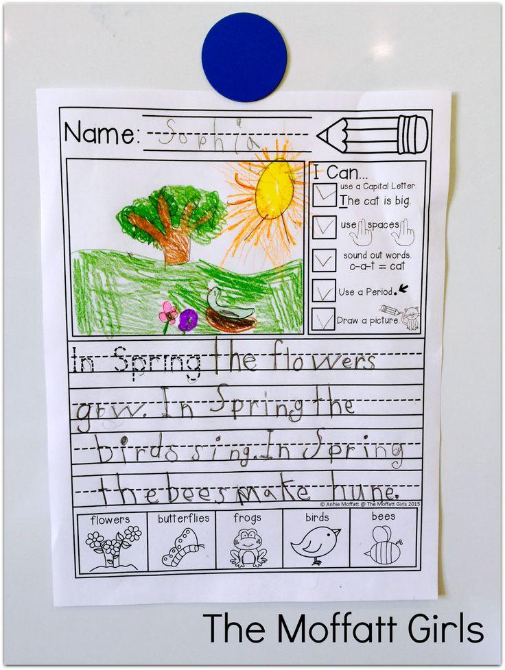 736x977 131 Best Kindergarten Writing Prompts Images
