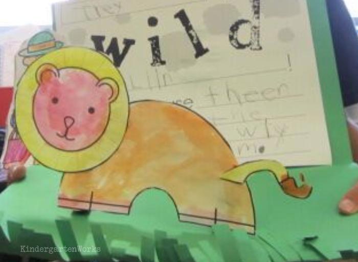 700x512 3d Zoo Animals Writing Project For Kindergarten Kindergarten
