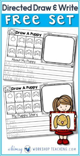 257x500 Drawing As A Writing Prompt Free Activities, Drawing Lessons