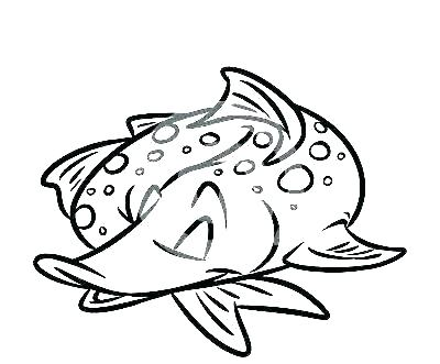 400x331 X Ray Coloring Page Pattern X Ray Coloring Page X Ray Fish