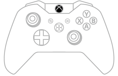 Xbox One Console Drawing