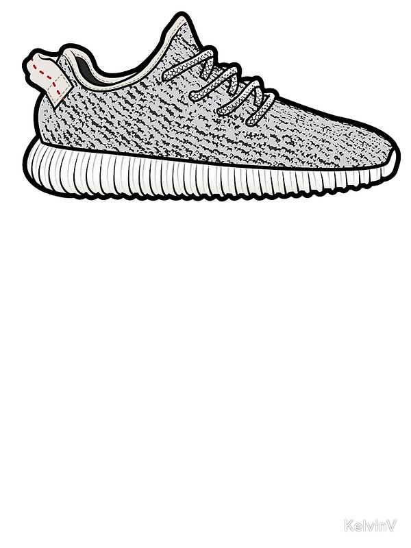 600x800 Collection Of Yeezy Boost Drawing High Quality, Free