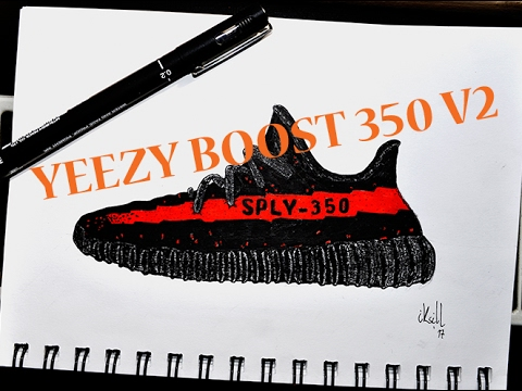 d40e82f1aa4 Yeezy Boost 350 Drawing at GetDrawings.com
