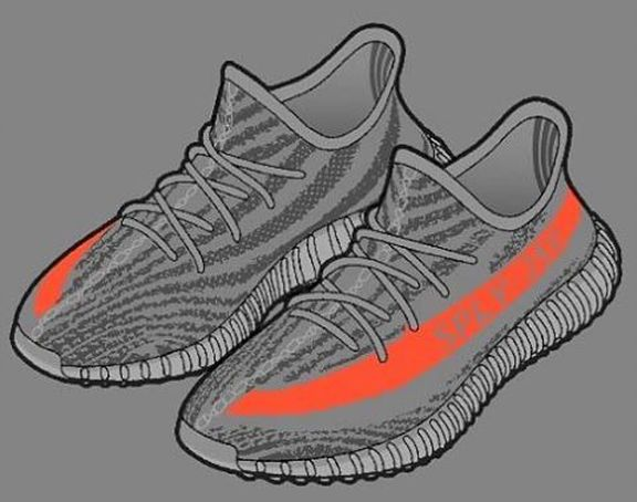 576x454 Vanessa Lawrence On Yeezy Boost, Yeezy And Drawing Art