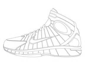 288x216 Nike Running Shoes Coloring Pages Color Your Air Yeezy 2 5