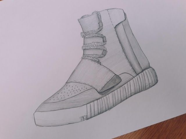 640x480 Adidas Yeezy Boost 750 Drawing Adidas Yeezy Boost 350 V2 Butter