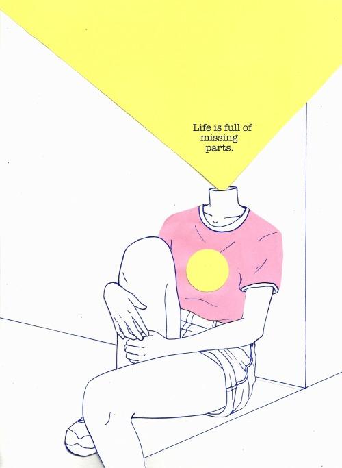 500x683 Drawing Illustration Art Upload Pink Sketch Yellow Myart Surreal