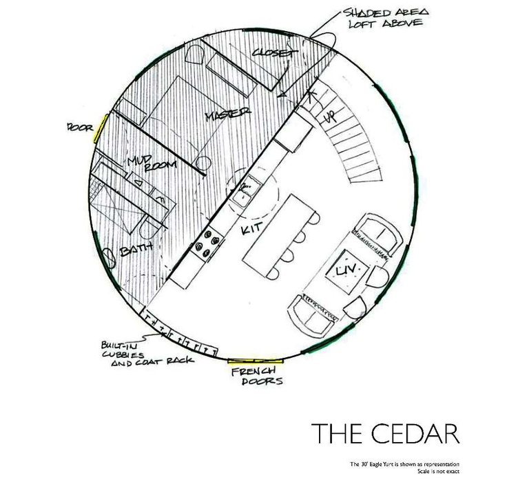 Yurt Drawing