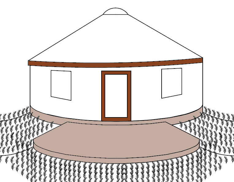 763x595 Insulated Earthbag Foundations For Yurts 7 Steps