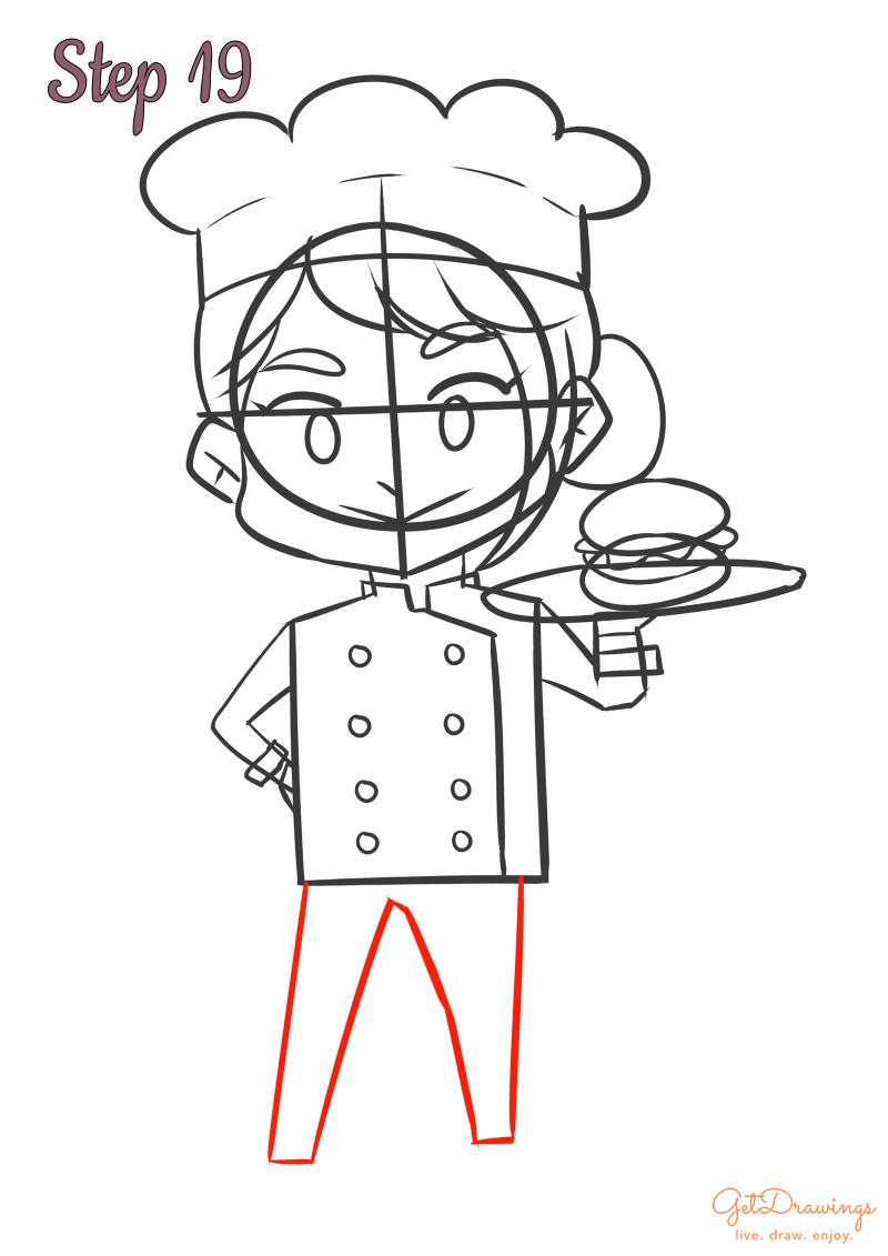 How to draw a Cook?