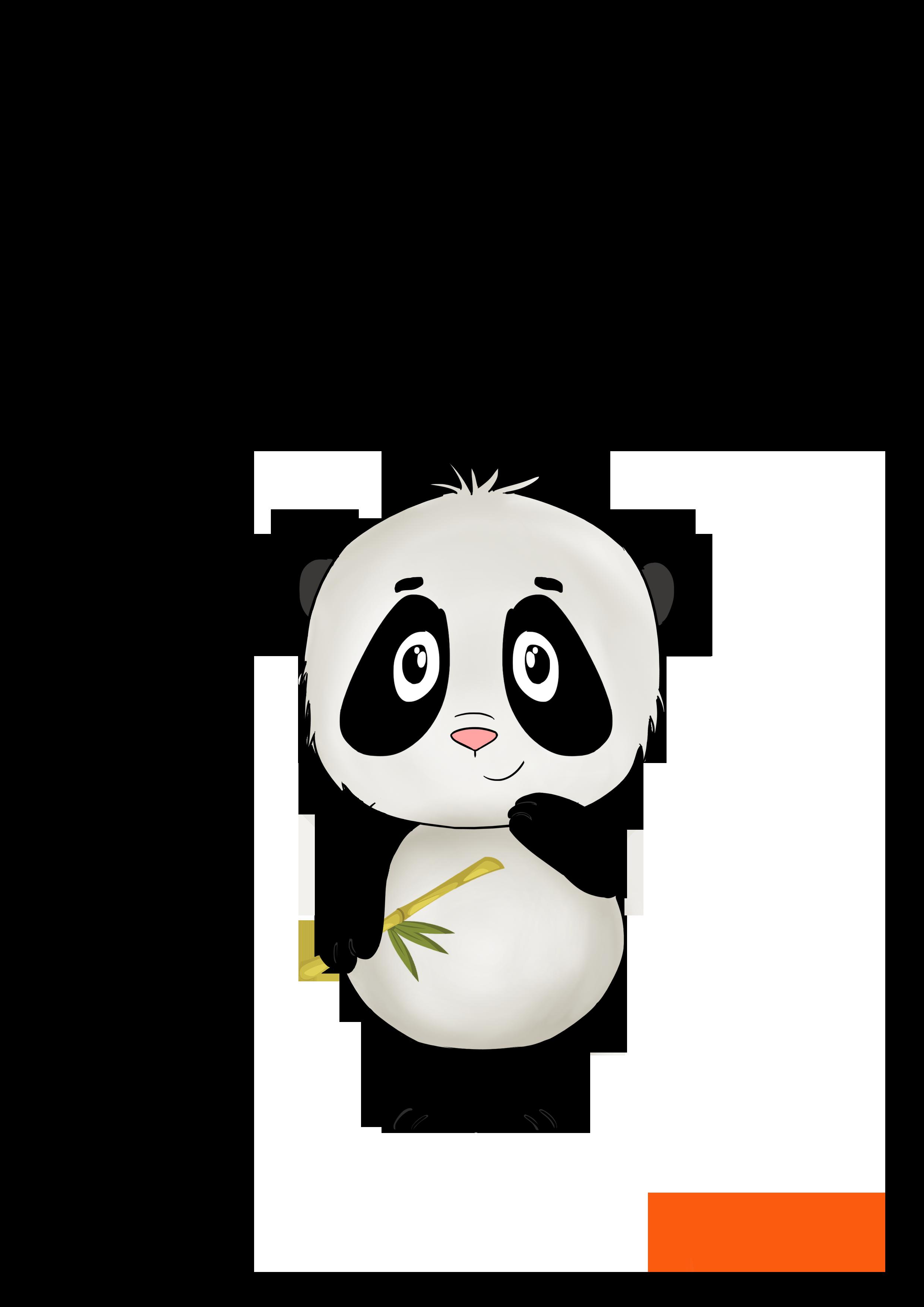 How to draw a cute Panda?