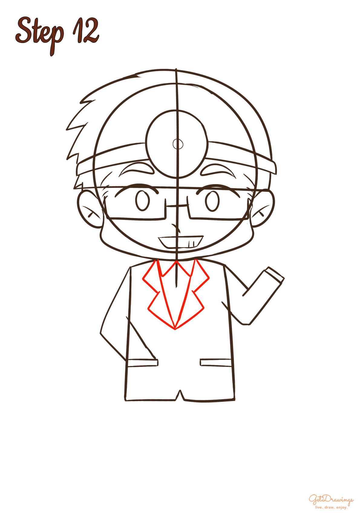 How to draw a Doctor?