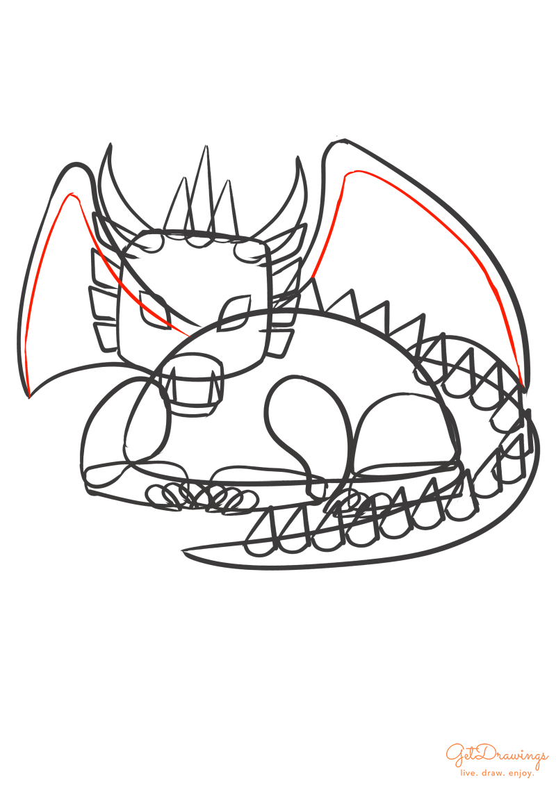 How to draw a Dragon?