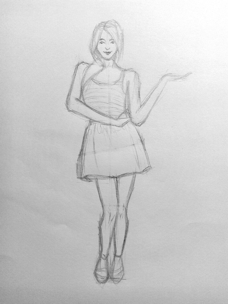 How to draw a Girl?
