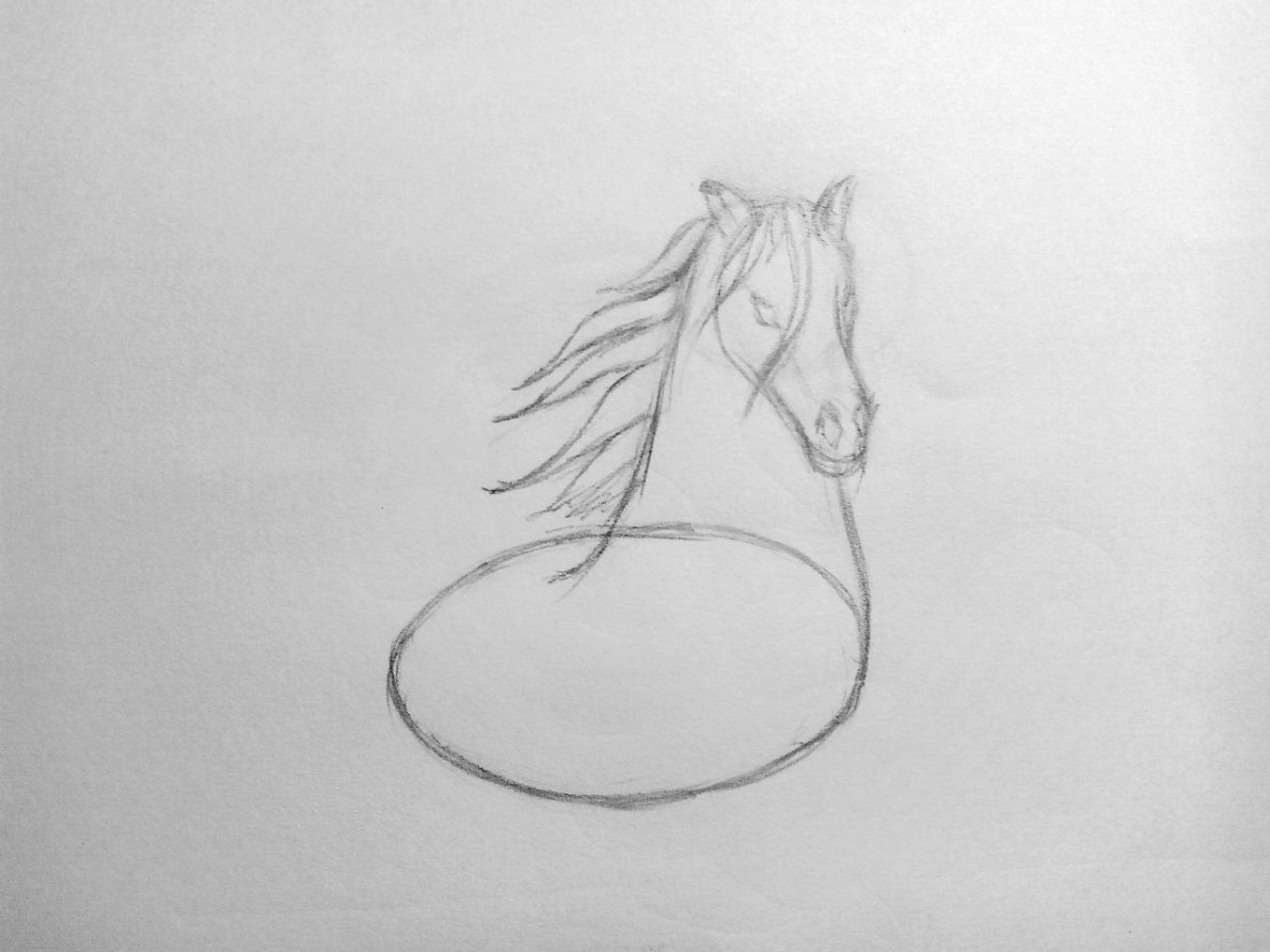 How to draw a Horse?