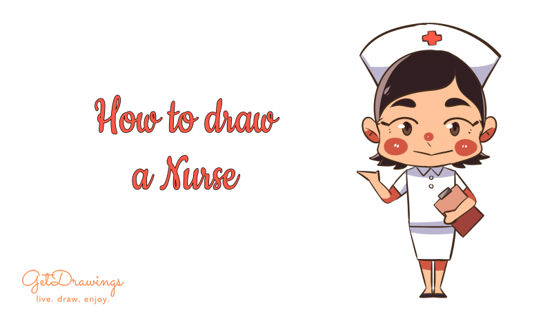 How to draw a Nurse?