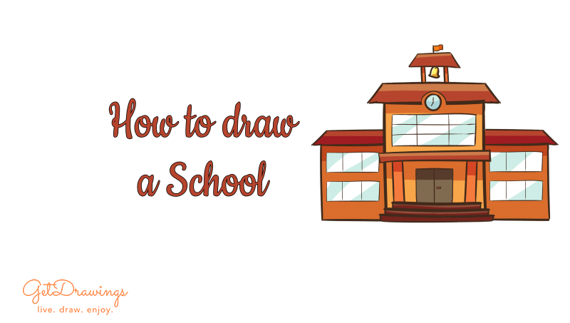 How to Draw a School