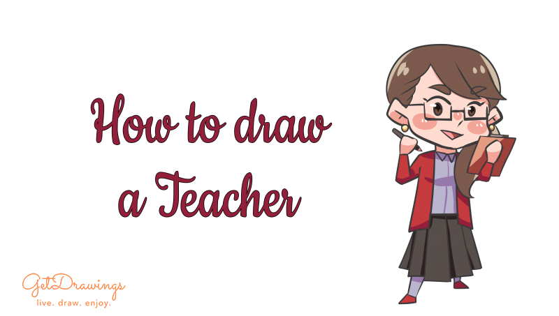 How to draw a Teacher?