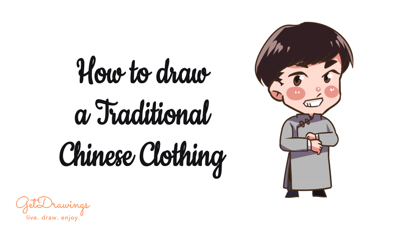 How to draw a Traditional Chinese Clothing