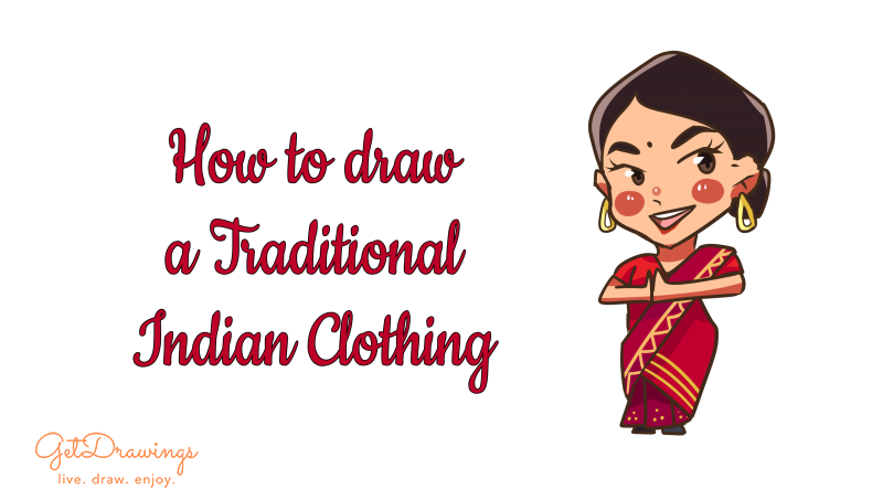 How to Draw a Traditional Indian Clothing