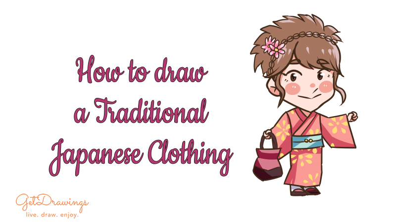 How to Draw a Traditional Japanese Clothing