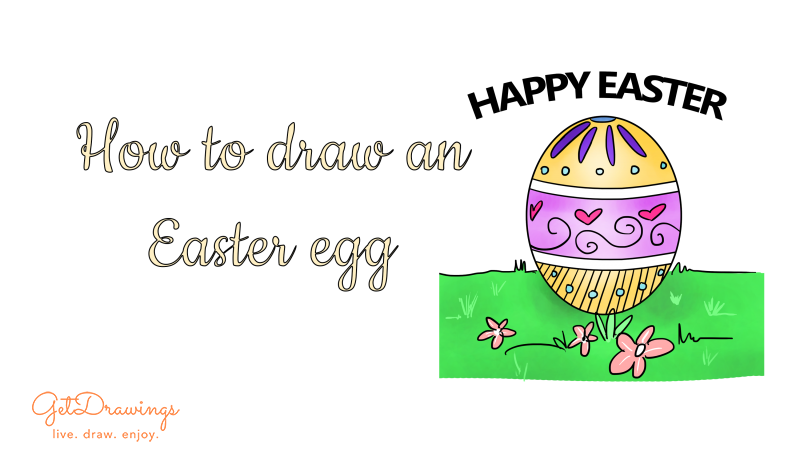 How to draw an Easter Egg?