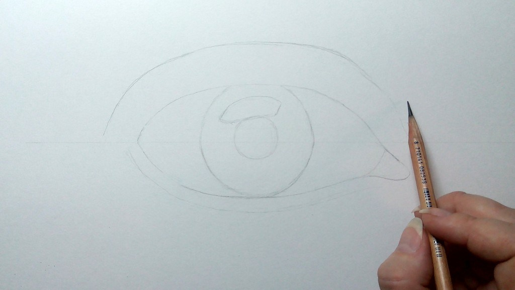 How to draw an Eye?