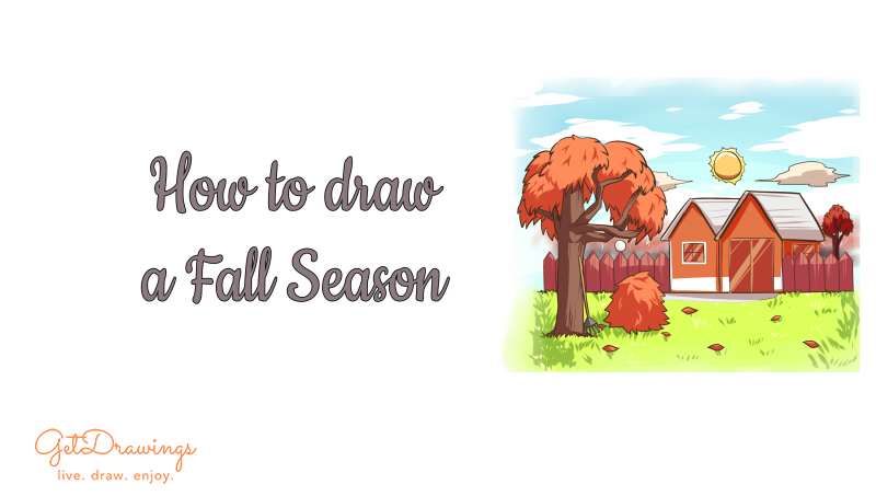 How to draw a Fall Season?