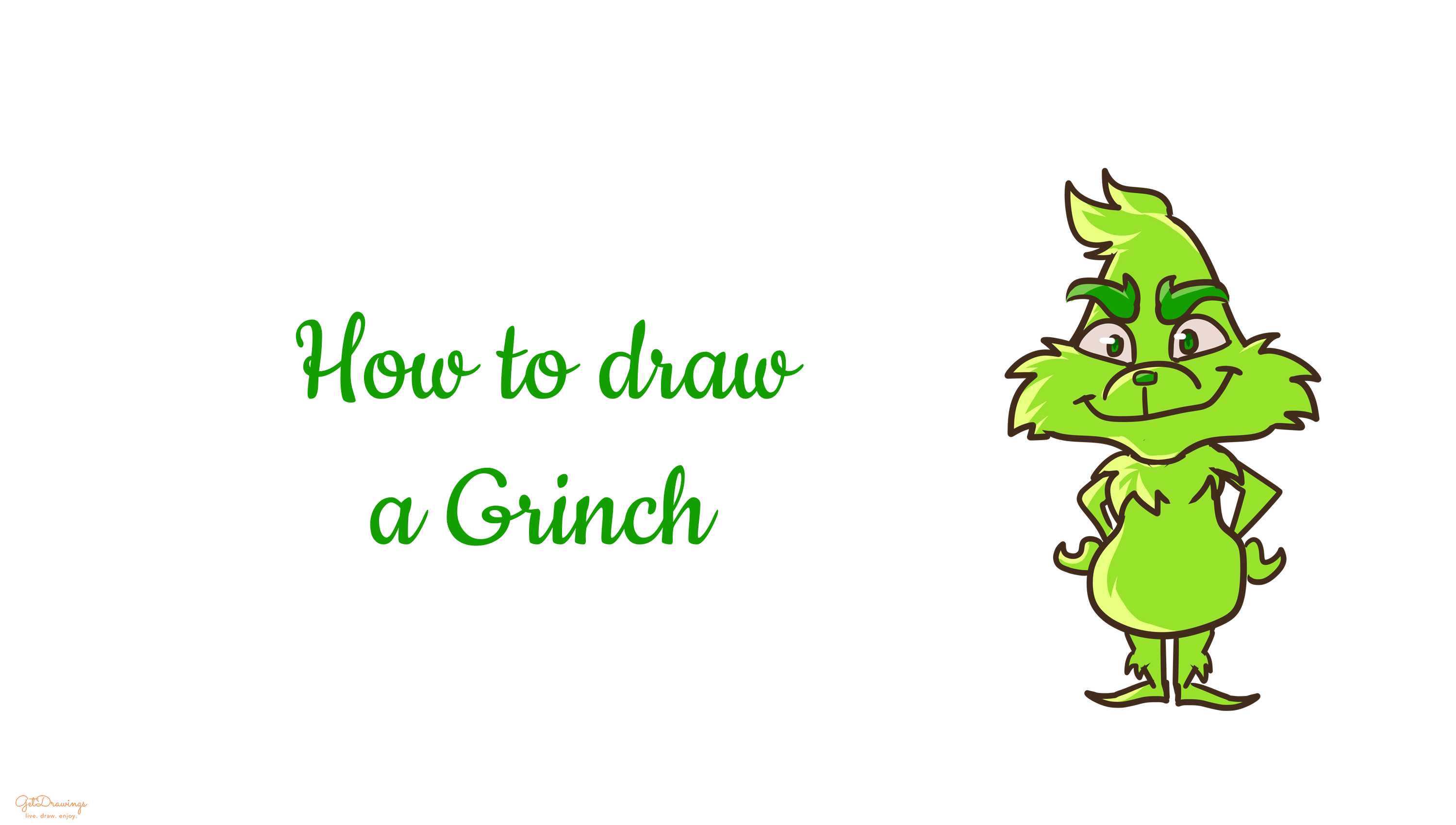How to Draw a Grinch