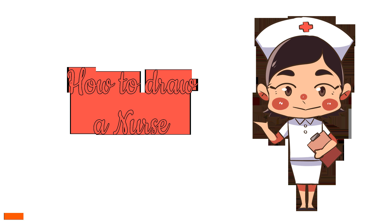 How to draw a Nurse?