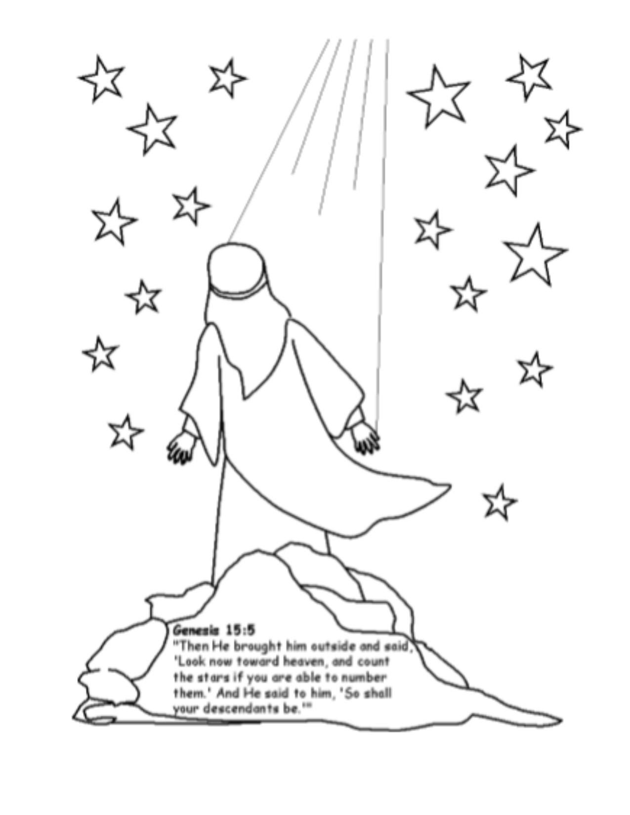 Abraham And The Stars