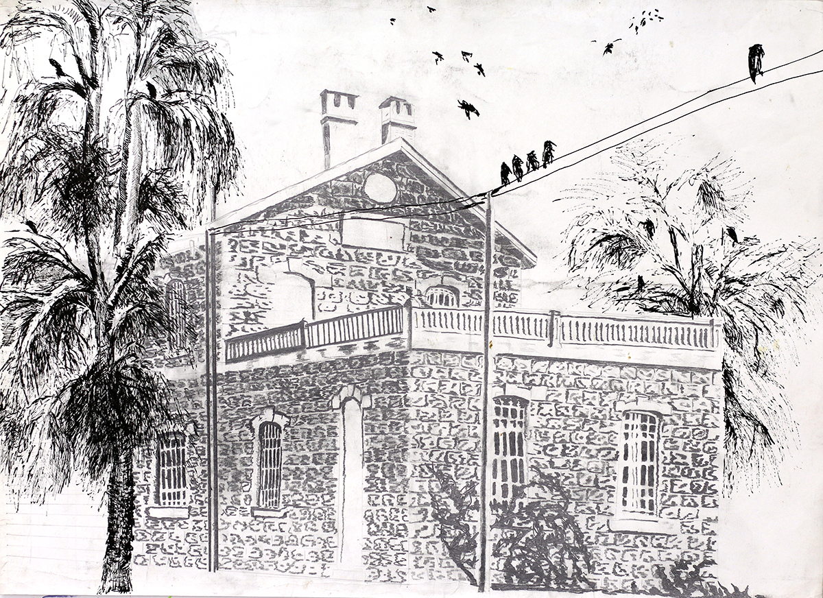 Building Drawing Raphael Perez