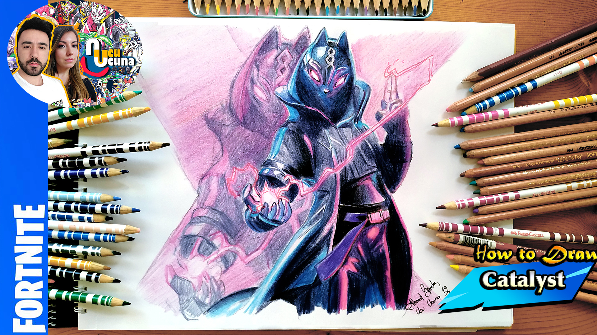 Catalyst Drawing Fortnite