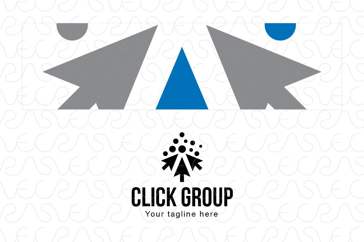 Click Group - Online Community Logo Template